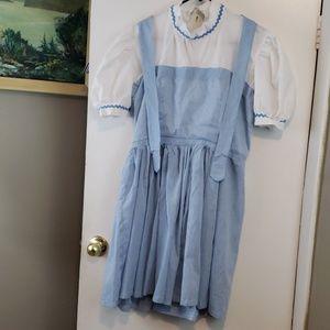 VTG Halloween Costume little bo peep, country girl